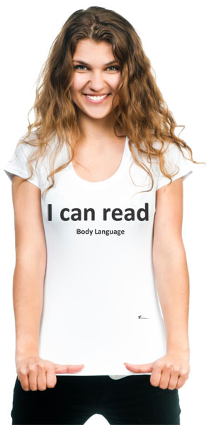Body Language T-shirt